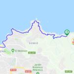 Senda peatonal costera:  Playa de la Ñora a Gijón