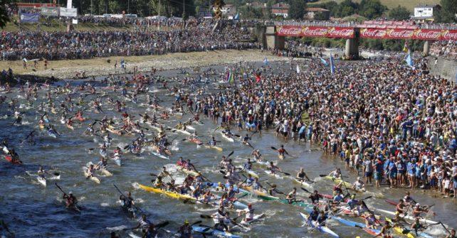 Fiesta de las Piraguas Descenso del Sella